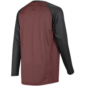 IXS Flow LS Jersey Men Night Red/Black